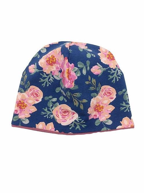 Mütze Rose genäht von Johanna