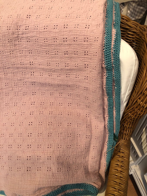 Vielseitig verwendbares Musselin Tuch fürs Mami oder Baby