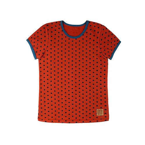 Shirt dusty orange