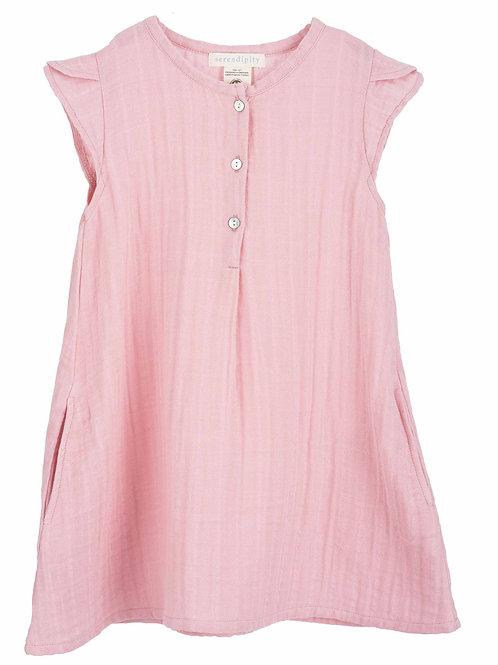Muslin Kleid rosa von Serendipity organics