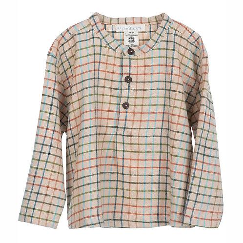 Gebürstetes Hemd für klein und gross