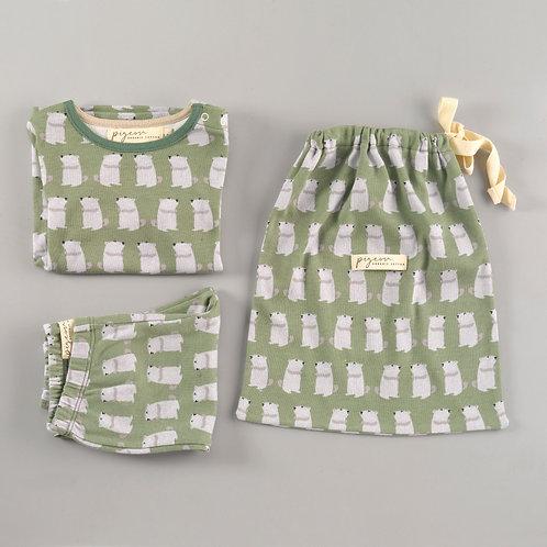 Murmeltier Pyjama von Pigeon Organics