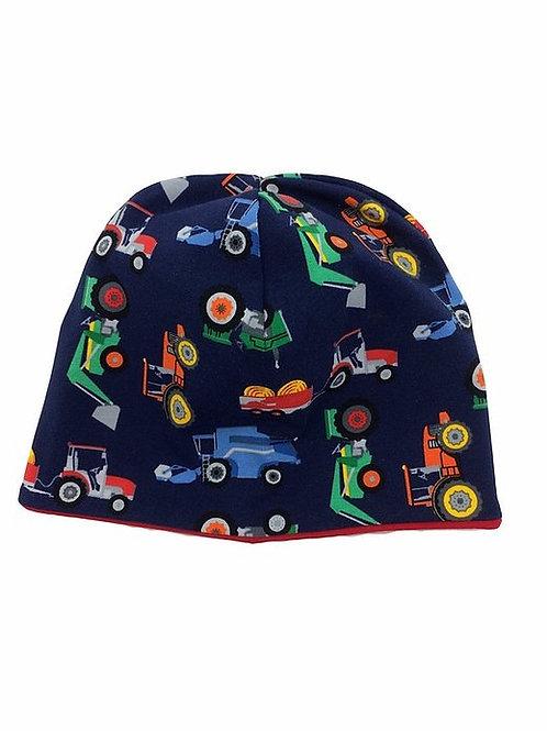 Mütze kleine Autos genäht von Johanna
