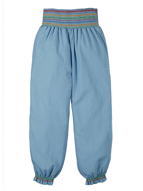 Harem Hose in Jeans Blau von Frugi