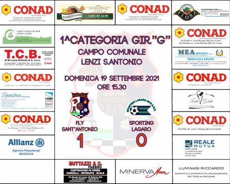 FLY vs SPORTING LAGARO - 1° Giornata di Campionato