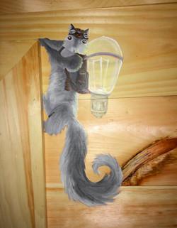 Bunk Room Squirrel 2