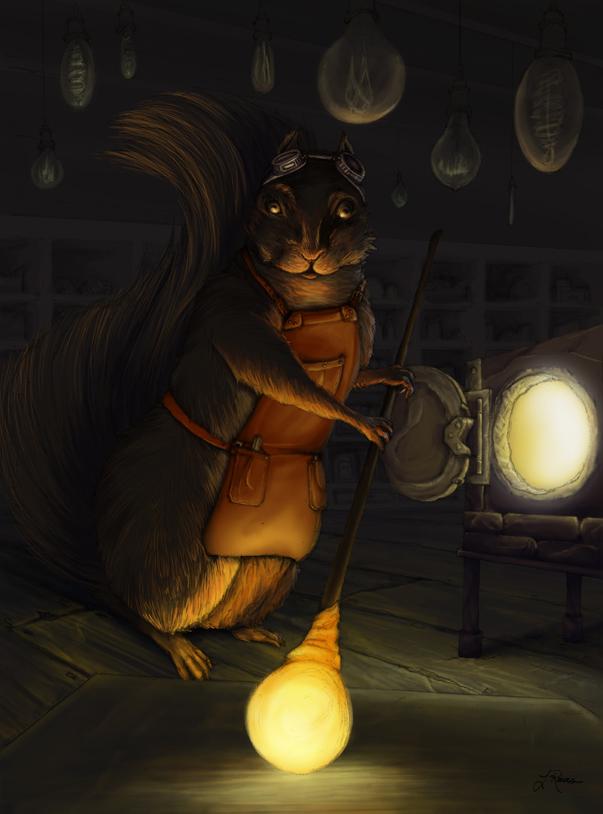 Forging Light