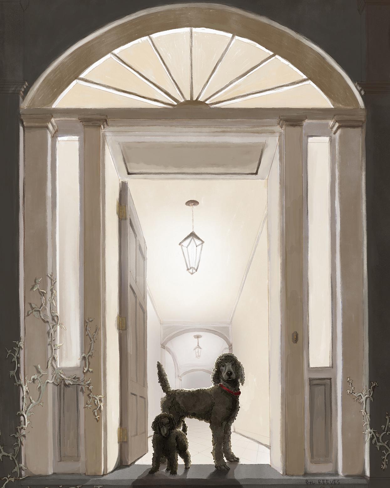 poodles open door sm2
