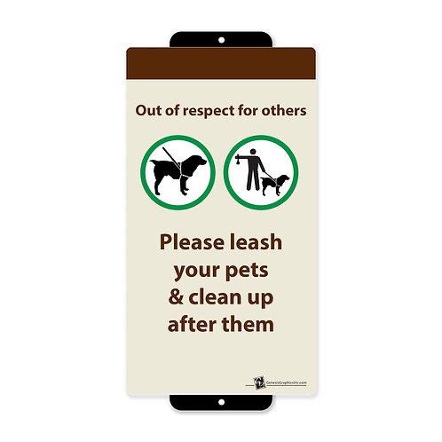 Leash Pets & Clean Up