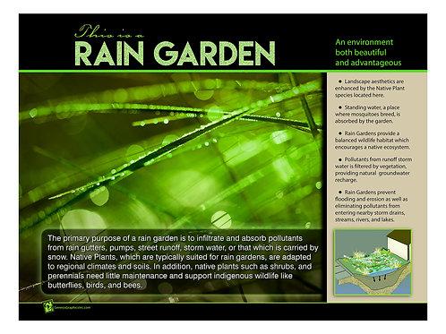 This is a Rain Garden 18x24