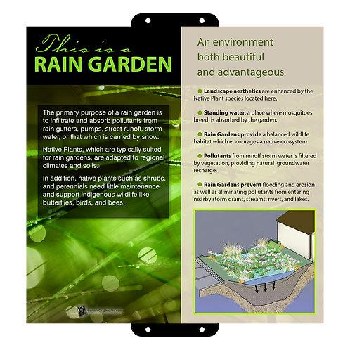 This is a Rain Garden 11x11
