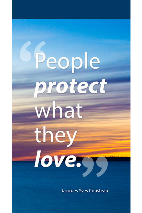 People Protect What They Love