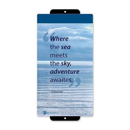 Where the sea meets the sky