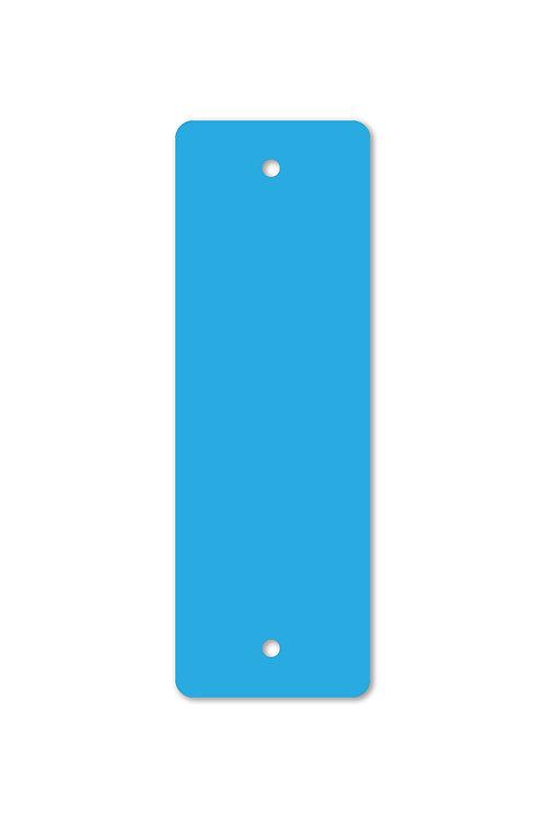 Blue Plastic Blaze Confidence Marker 2x6 in.