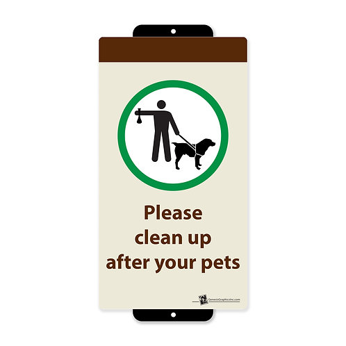 Please Clean Up After Pets
