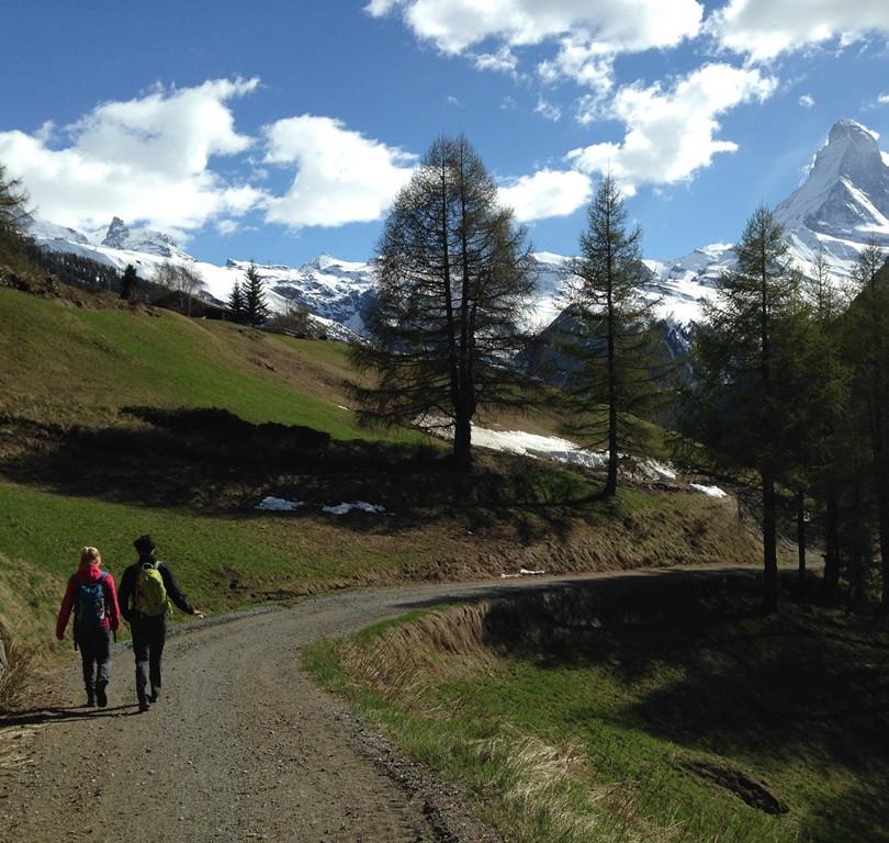 Riedweg nach Zermatt