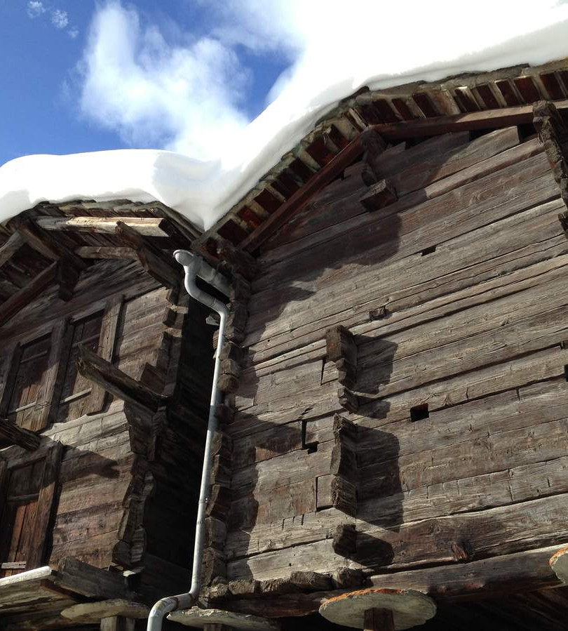 Alter Dorfkern in Zermatt