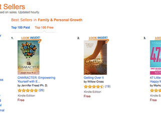 CHARACTER Becomes a #1 Amazon BestSeller