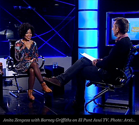 Anita Zengeza live television interview