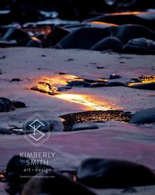 Purple Sand on Fire