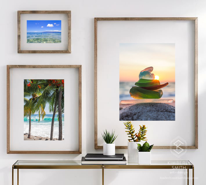 Fine Art Photo Prints & Classicly Modern Interior Design