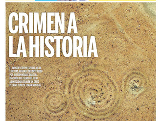 Ancient spirals in the news