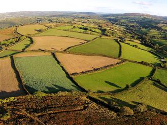 Aerial filming in Devon