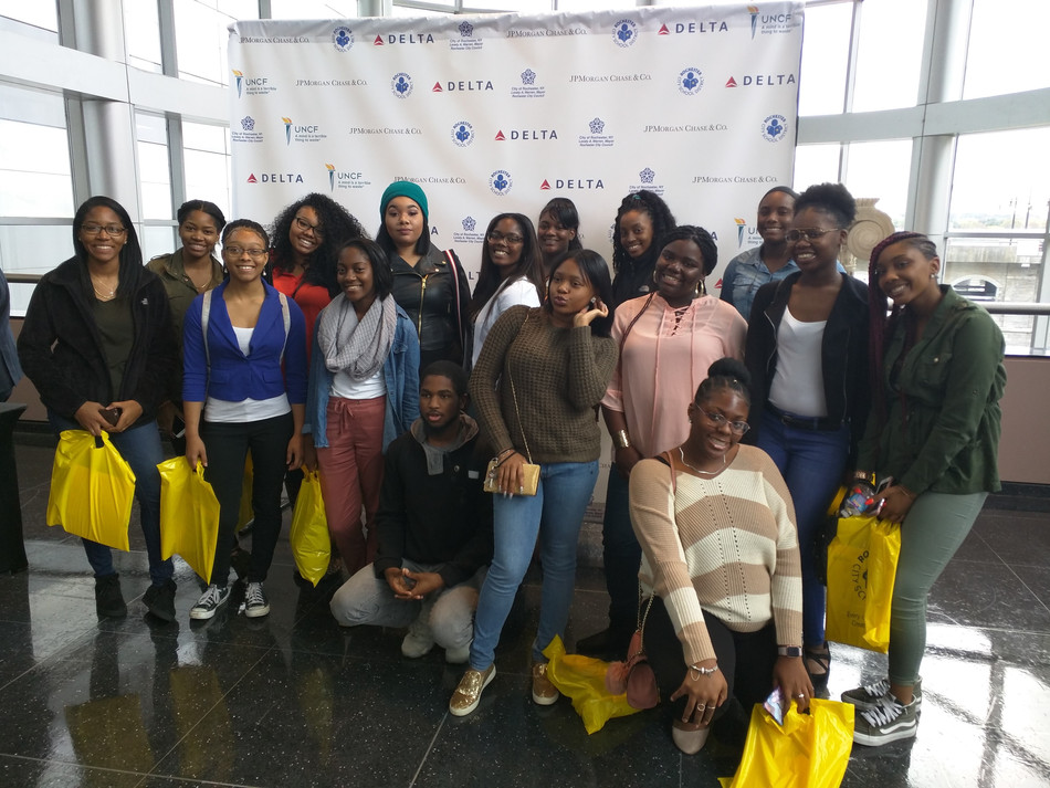 UB LPP Seniors attend HBCU College Fair
