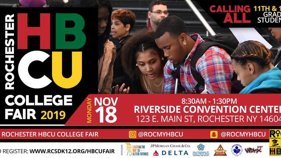 2019 HBCU College Tour - Rochester, NY