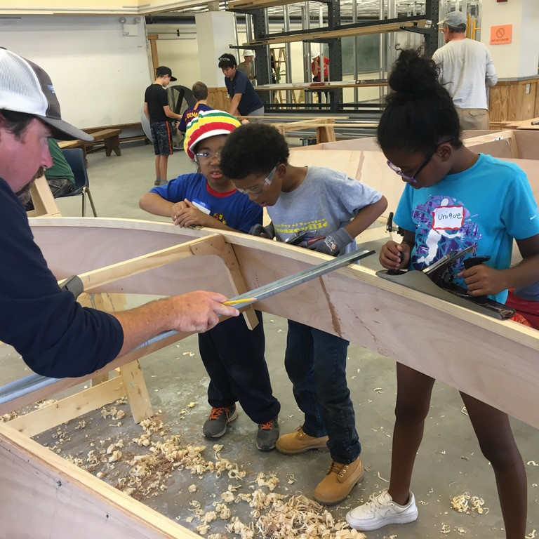 Boating, Building & Ecology Program -- Southern Shore Yacht Club