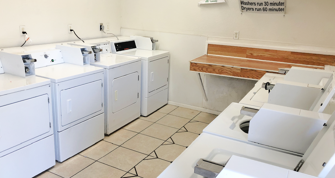 24 Hour Laundry Facilities