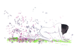 Despretensão 2 Realizado para uma exposição na Casa Museu Manuel Teixeira Gomes, em Portimão. Técnica mista sobre papel canson 200gr Tamanho: 29,7cmx42cm  Para venda. Entre em contacto para detalhes. | For sale. Contact for details.  Unpretentiousness 2 Held for an exhibition at Casa Museu Manuel Teixeira Gomes, in Portimão. Mixed technique on canson paper 200gr Size: 29.7cmx42cm