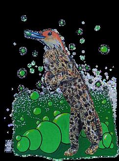 Pinguiço da Malásia (baptizado por um meu seguidor do Faceboook) Série de desenhos de animais fantásticos onde misturo a cabeça e o corpo de animais diferentes. Pintados com os marcadores One4all da Molotow. Tamanho:21cmx29,7cm  Para venda. Entre em contacto para detalhes. | For sale. Contact for details.  Malaysia's Pinguiço (baptized by one of my Faceboook followers) Series of drawings of fantastic animals where I mix the heads and bodies of different animals. Painted with Molotow's One4all markers. Size: 21cmx29.7cm