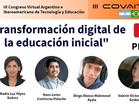 III COVAITE 2020 - Transformación digital de la Educación Inicial
