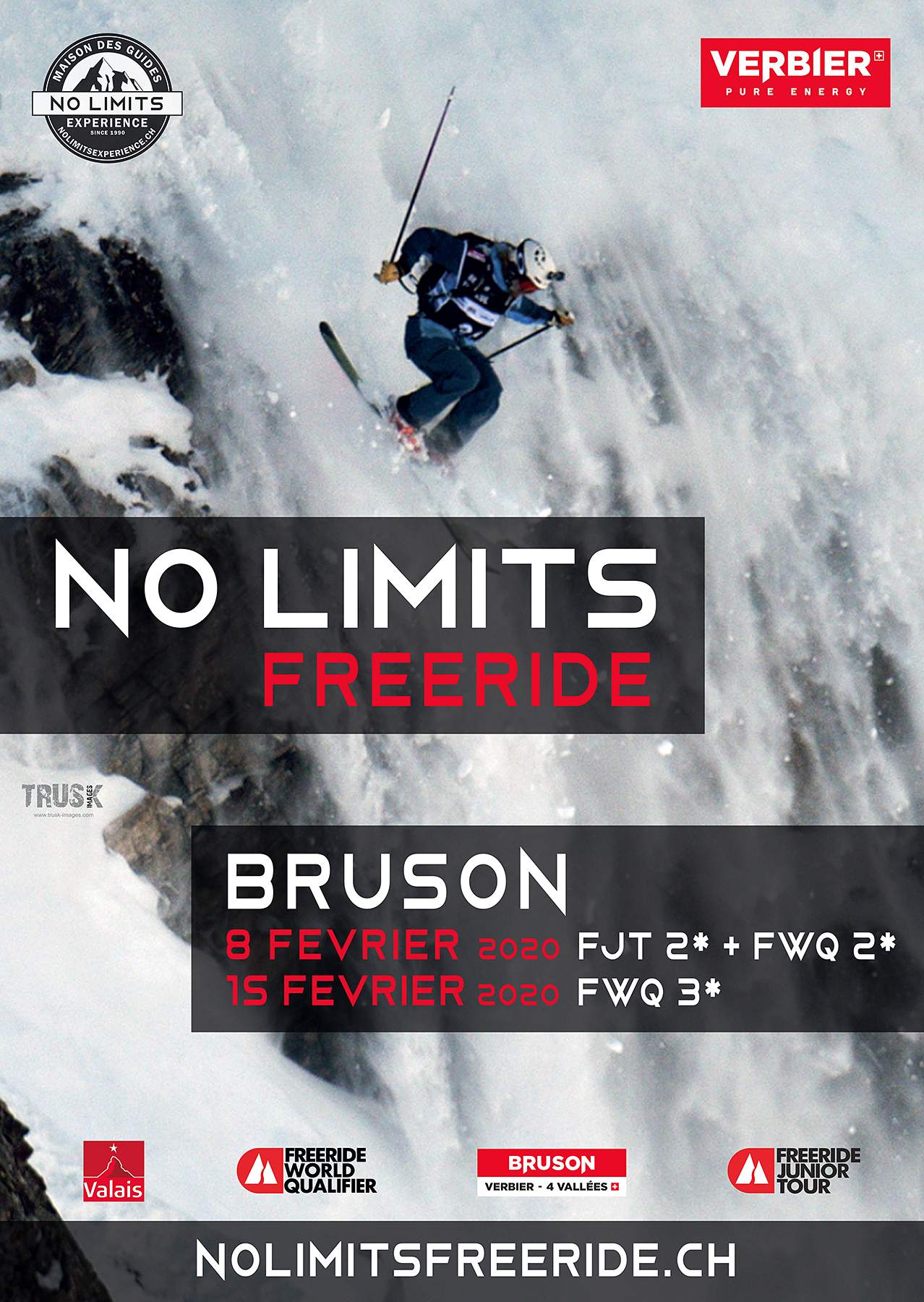 Affiche Freeride Bruson 2020