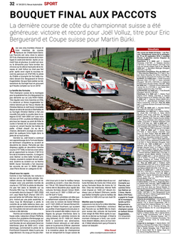 Revue Automobile N° 39/2015