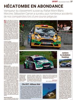 Revue Automobile N° 36/2016