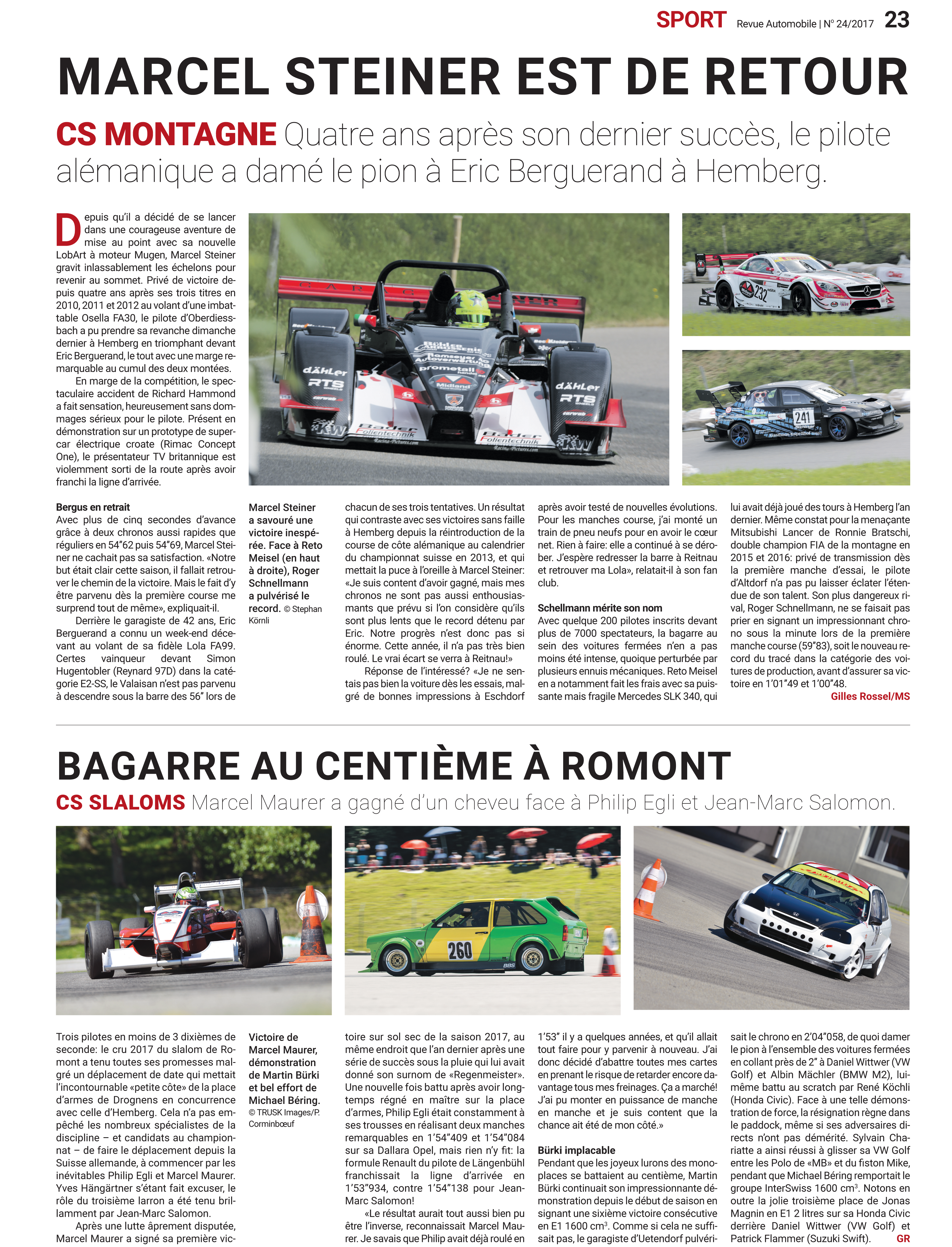 Revue Automobile N° 24/2017