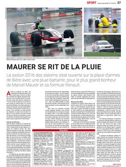 Revue Automobile N° 16/2016