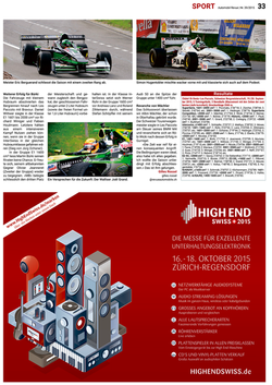 Automobil Revue N° 39/2015