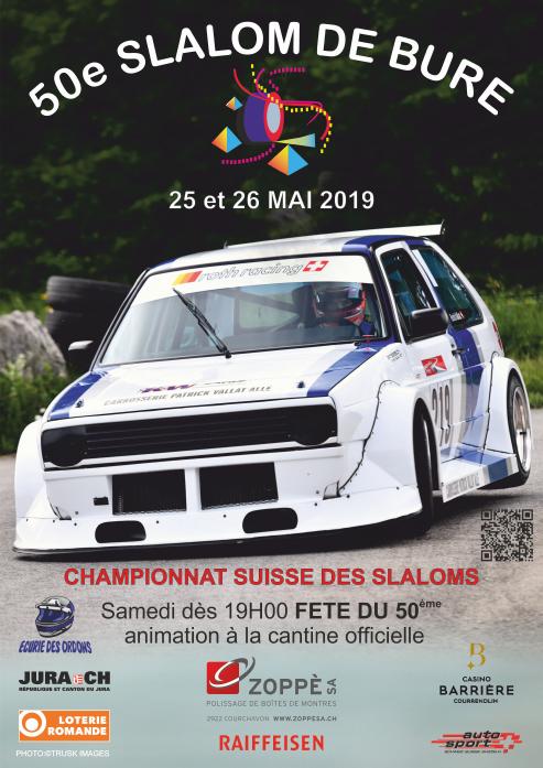 Affiche Slalom de Bure 2019
