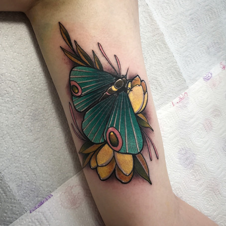 Max Diffuzer, new guest artist at Long Story Tattoo
