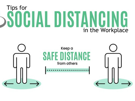 Tips for Social Distancing in the Workplace