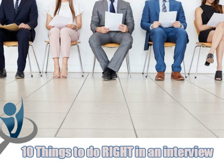 10 Things to do RIGHT in an interview