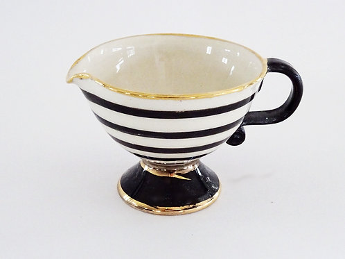 Gold Trim Milk Jug