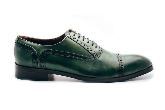Pantofi Oxford Semi-Brogue