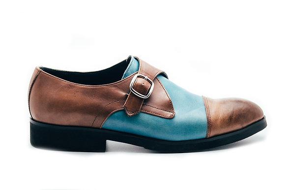 Pantofi Single Monk Strap
