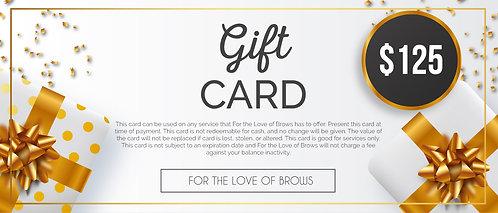 Gift Card $125