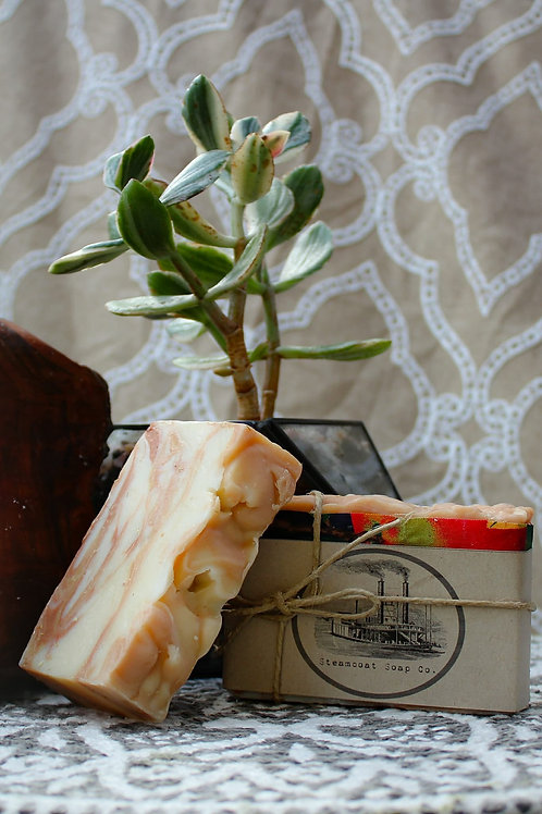 Handmade Patchouli Cedar Sage Cold Process Soap - The Greener