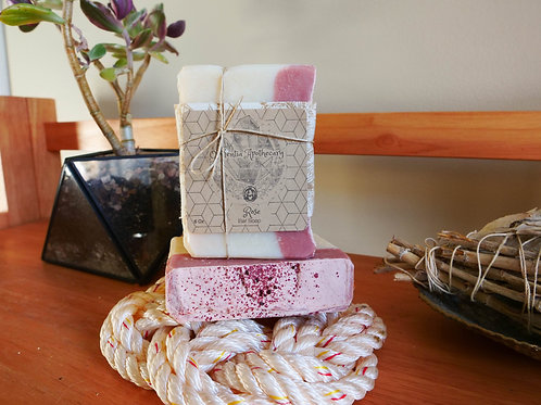 Handmade Rose Cold Process Soap